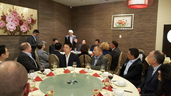 Welcome Dinner Vice Mayor of Shanghai